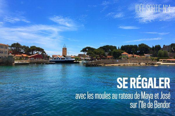 Location bateau sortie Ile de Bendor