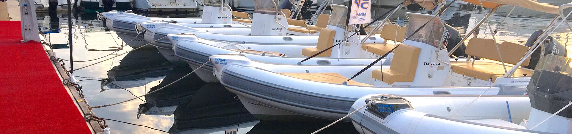 Location bateau Sanary Bandol Six-Fours